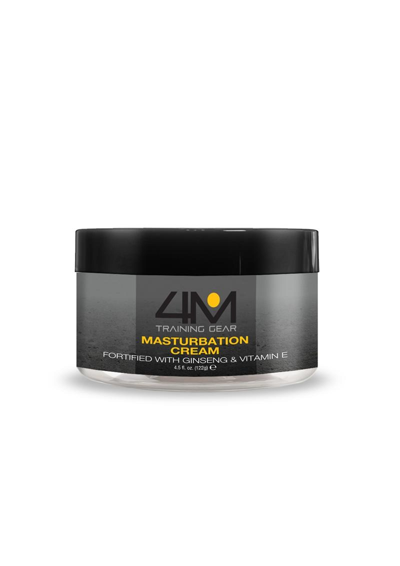 4M Endurance Masturbation Cream With Ginseng And Vitamin E