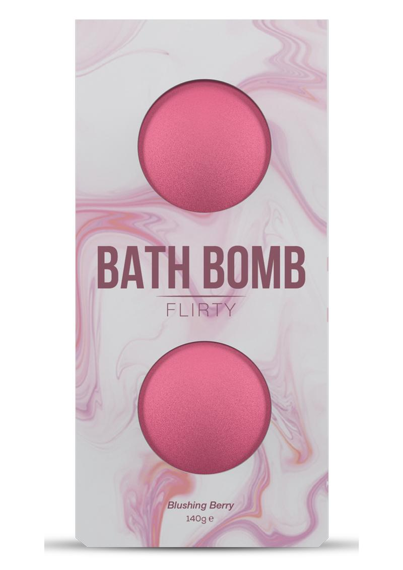 Dona Flirty Fragrance Bath Bomb Blushing Berry 2 Per Box