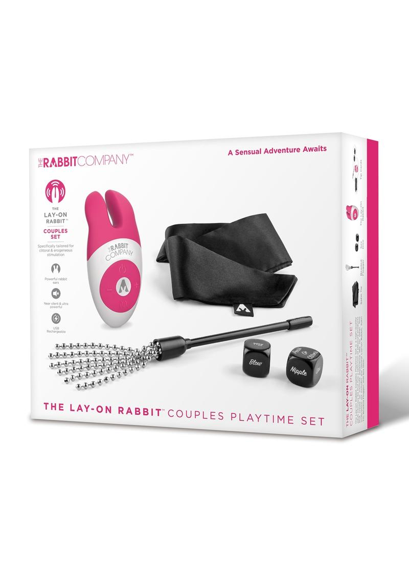 Lay-On Rabbit Couples Playtime Set