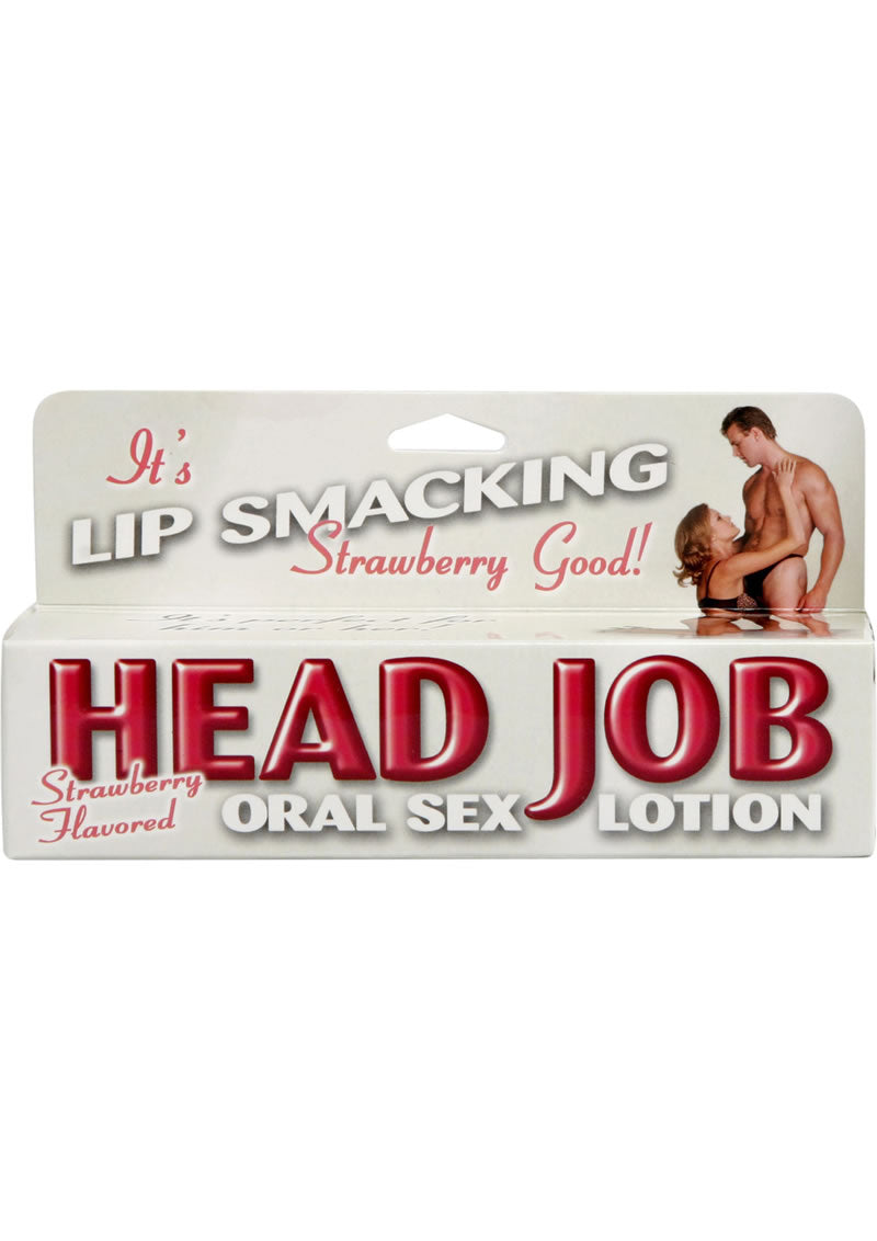 Head Job Oral Sex Lotion 1.5 Ounce Strawberry