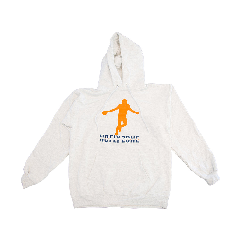 NEW CHJ No Fly Hoodie - Heather Grey