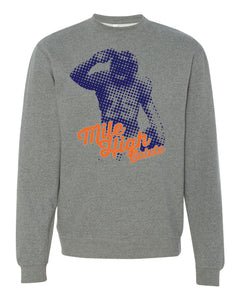 CHJ Mile High Salute Sweatshirt - Gunmetal Grey