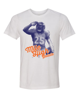 CHJ Mile High Salute Tee - White