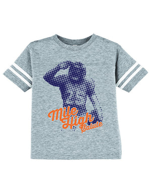 CHJ Mile High Toddler Tee - Vintage Heather