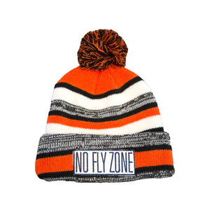 NEW Stripe NFZ Beanie with Pom