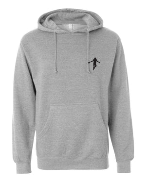 Classic Strap Harris Hoodie - Heather Grey