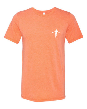 Classic Strap Harris Tee - Orange Triblend