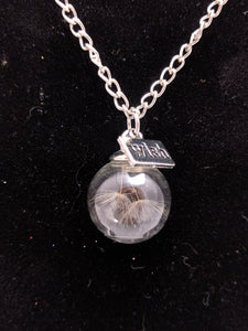 Dandelion Wish Necklaces