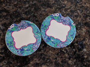 Lilly P. Car Coasters