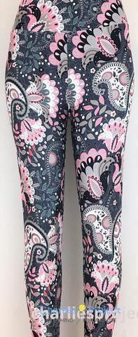 Smokey Paisley Leggings