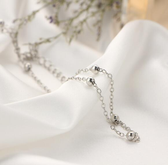Silver Choker Length Necklaces