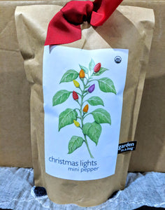 Christmas Lights Pepper - Garden in a Bag