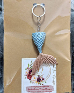 Mermaid Tail Keychain #1