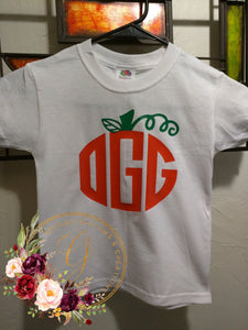 Monogram Pumpkin T-shirts