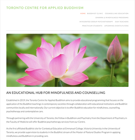Toronto Centre for Applied Buddhism Sumeru
