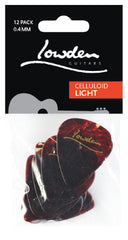 Lowden Picks Celluloid - 12 Pack