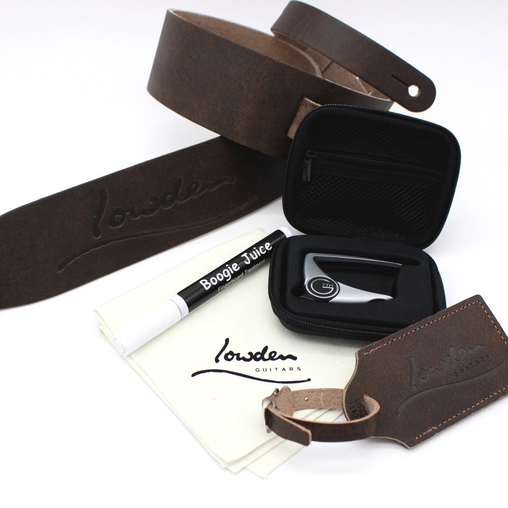 Cloth / Boogie Juice / Capo / Strap & Luggage Tag Bundle