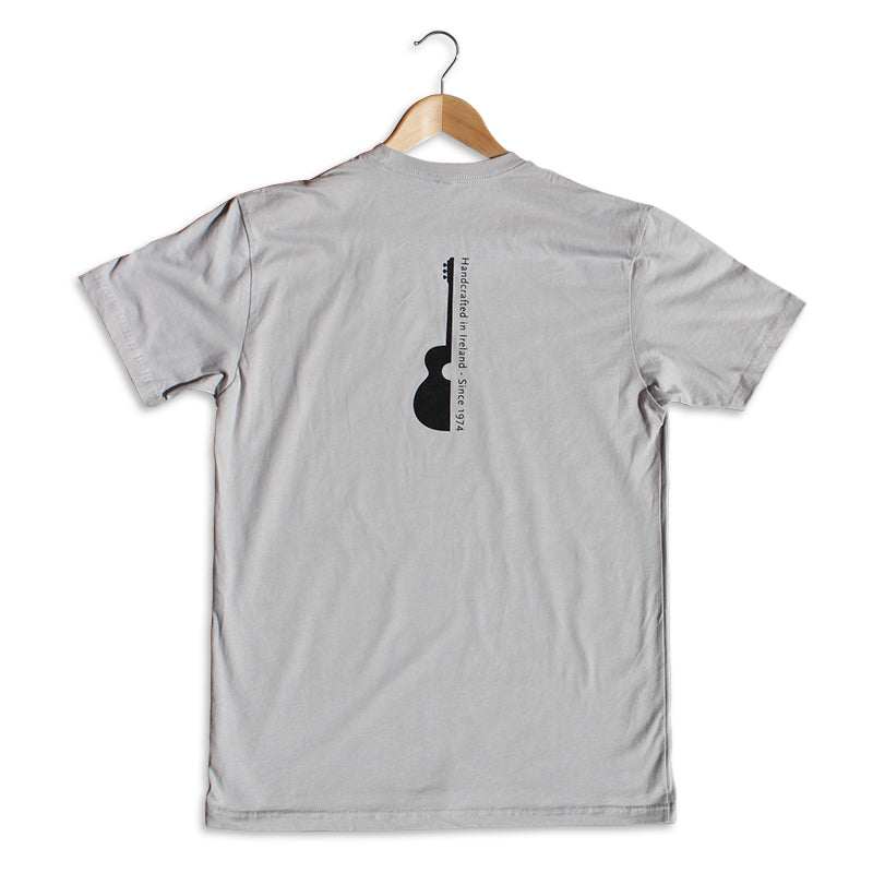 Handcrafted In Ireland Graphic T-Shirt - Stone Grey