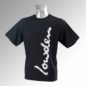 Mens Black Lowden Logo T-shirt