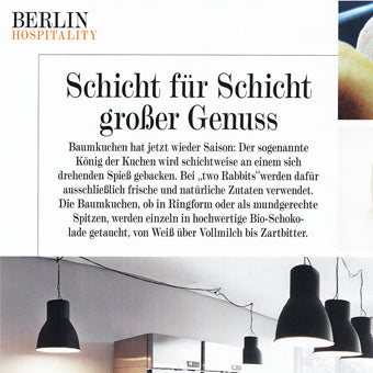 two Rabbits im GG Magazin - Berlin Hospitality