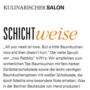 two Rabbits im Feinschmecker 01/19