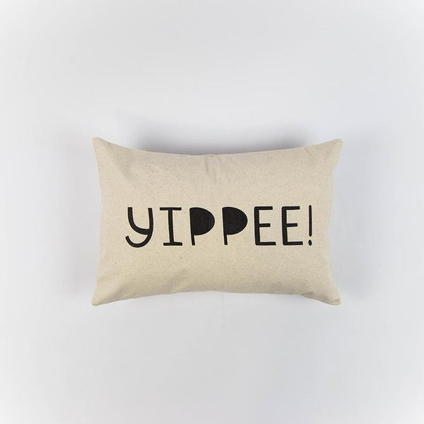 Yippee! 12x18 Canvas Pillow Cover