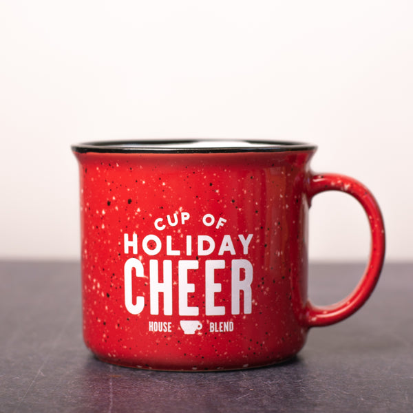Holiday Cheer Campfire Mug - Red