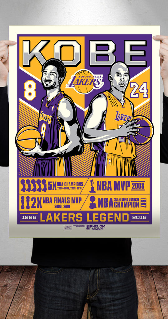 "Stolitron honors the ""Legend of Kobe Bryant"" for Phenom Gallery"