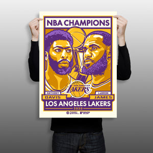 Phenom Gallery Launches Los Angeles Lakers Print Exclusive on eBay