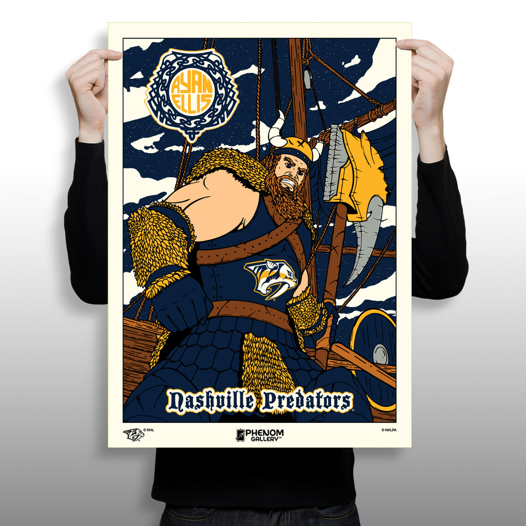 Phenom Gallery Releases Predators Limited Edition Silkscreen Print Featuring Ryan Ellis