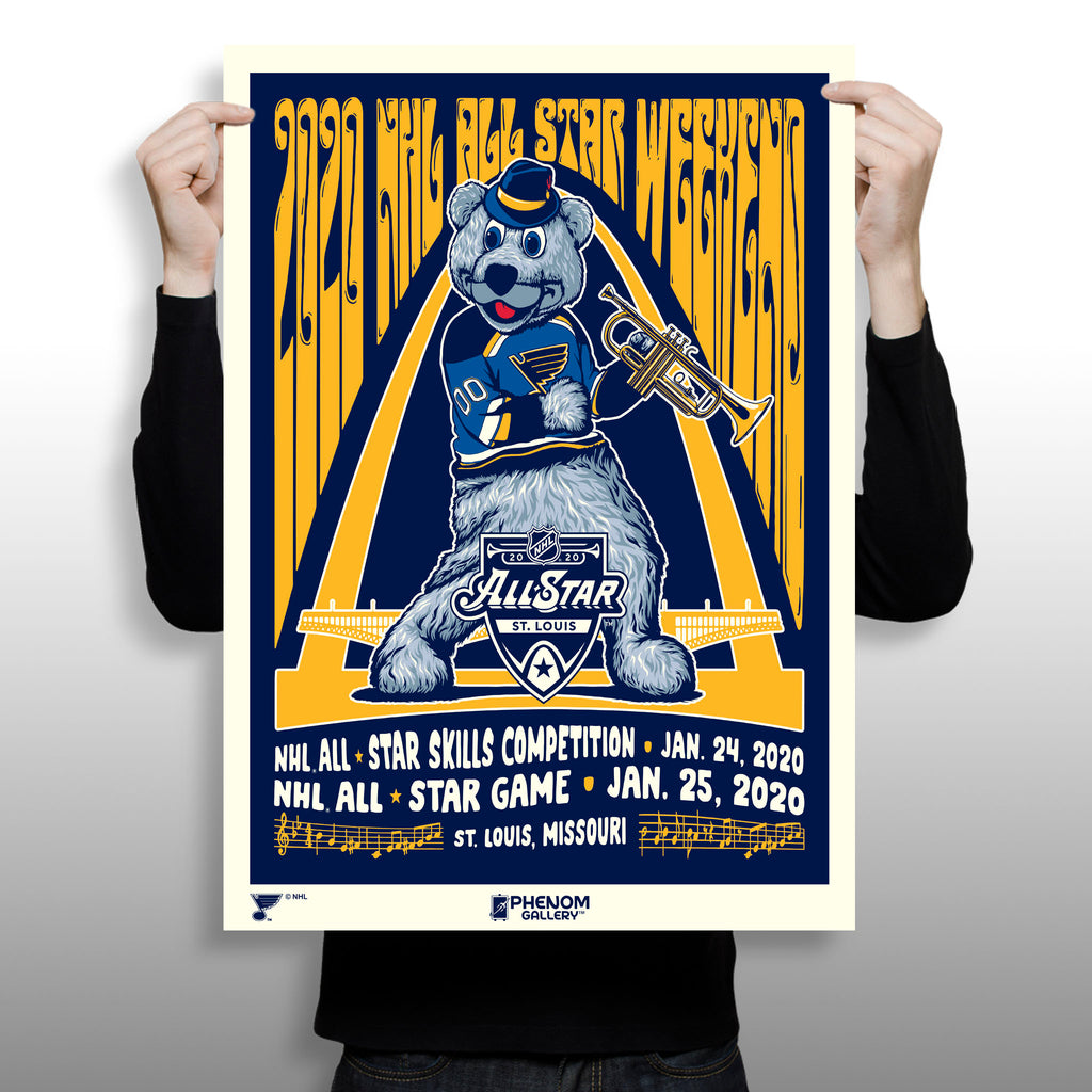Phenom Gallery Launches National Hockey League 2020 All Star Print Exclusive at the NHL Fan Fest in St. Louis