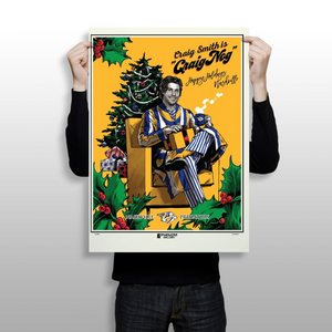 "Phenom Gallery Releases Predators Holiday Silkscreen Print Featuring ""Craig Nog"""