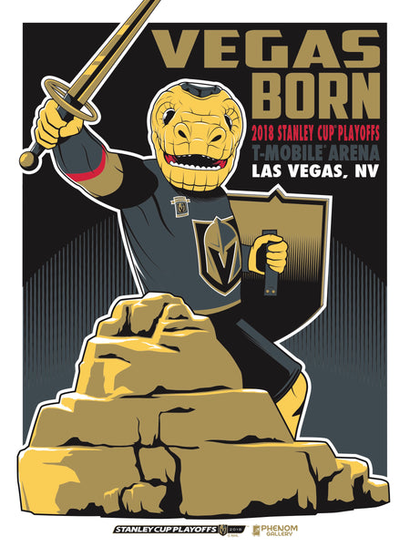 Golden Knights Launch 2018 Post-Season Phenom Gallery Print, First Print Sold Out in 20 Minutes