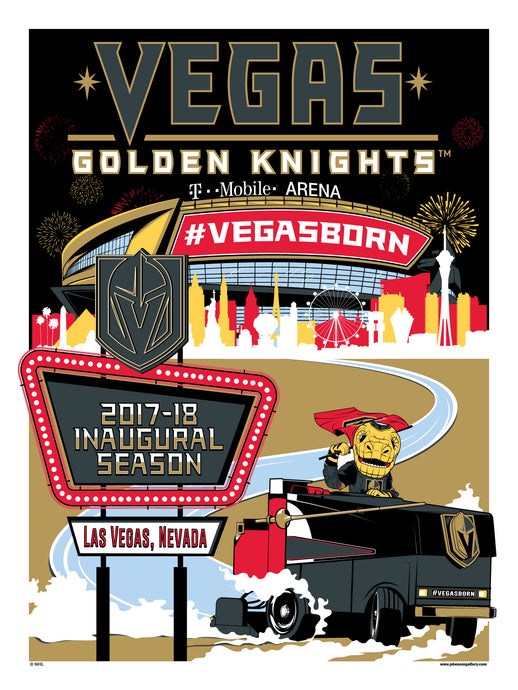 Las Vegas Golden Knights Launch Phenom Gallery at T-Mobile Arena
