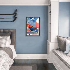 Formula 1 Grand Prix Austin Circuit of the Americas 2018 Serigraph