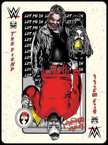"WWE Bray Wyatt ""The Fiend Is Wild"" Limited Edition Serigraph"