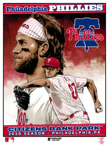 Philadelphia Phillies 2020 Season Serigraph