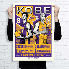 Los Angeles Lakers™ Kobe Legend Framed