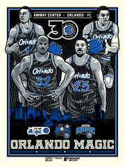 Orlando Magic 30th Anniversary Limited Edition Serigraph (Printer Proof)
