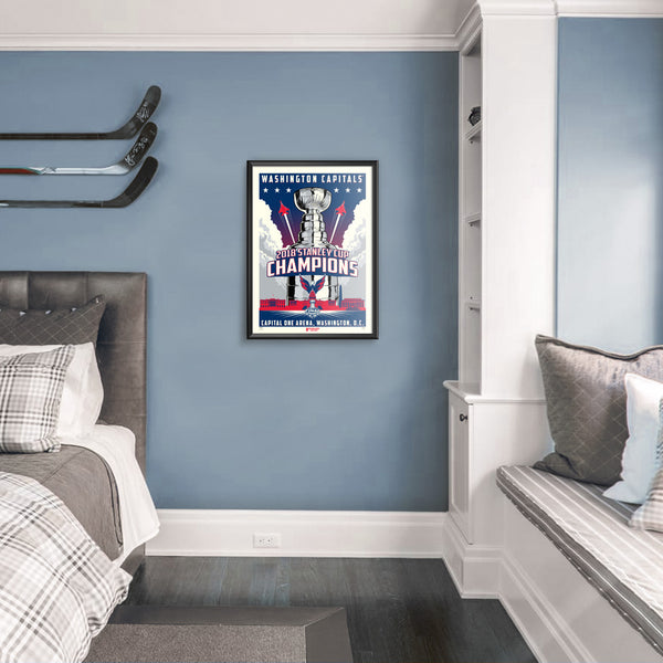 Washington Capitals 2018 Stanley Cup Champions Serigraph (Printer Proof)