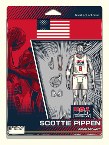 USA Basketball Scottie Pippen Action Figure Serigraph- PRESELL SHIPPING JUNE 25
