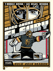 Vegas Golden Knights™ Marc-Andre Fleury Stolitron (Printer Proof)