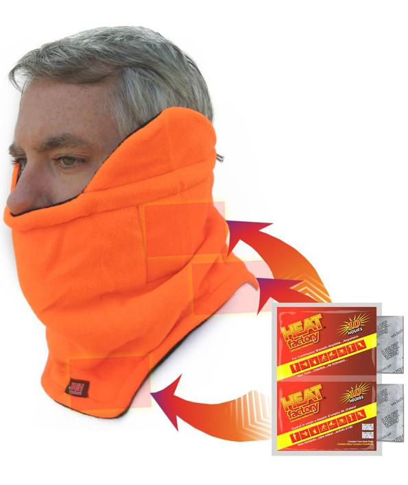 Heat Factory Heated Neck Gaiter: Blaze Orange