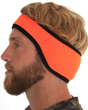 Heat Factory Heated Head Band: Blaze Orange