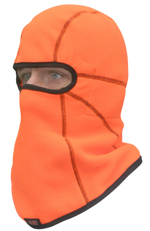 Heat Factory Heated Helmet Balaclava: Blaze Orange