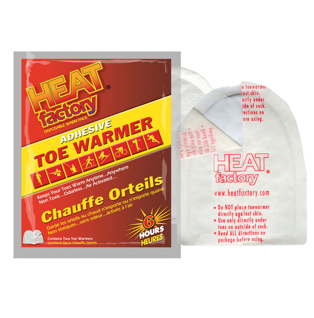 Adhesive Toe Warmers (6hr)