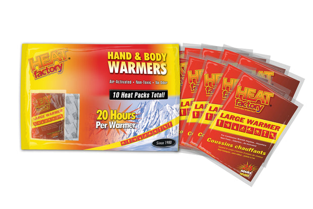Heat Factory Hand & Body Warmer Big Pack