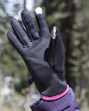 Women's Heated Lightweight Fleece Gloves