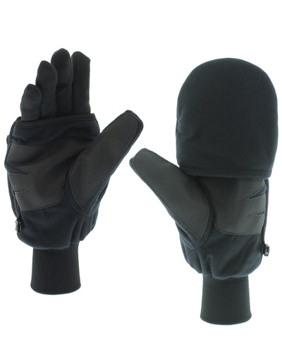 Heated Pop-Top Mittens