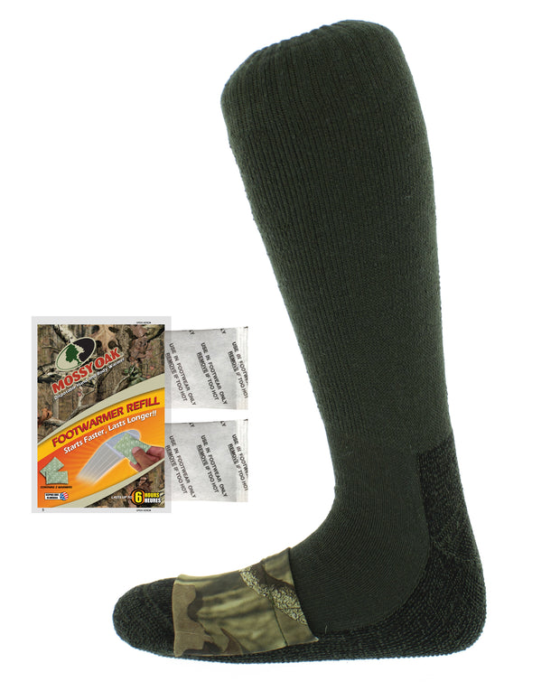 Mossy Oak Mid Calf Wool Sock